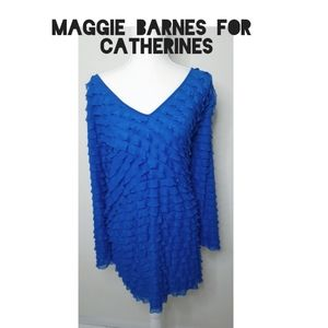 Maggie Barnes for CATHERINES tunics Size 5X